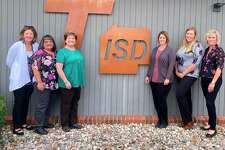 From left, Mary Boury, Nutrition Educator, Tanya Stowell, Administrative Assistant, Janet Nichols, Nutrition Educator, Wendy Guinther, Nutrition Educator, Alyssa Westerby, Nutrition Educator, Tracy Robinson, Regional School Health Coordinator. (Courtesy photo)