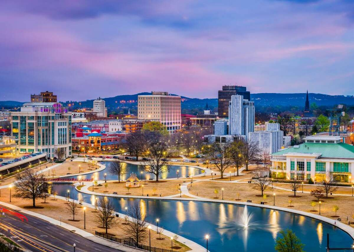 Alabama: Madison County - Population: 357,560 - Median home value: $180,600 (67% own) - Median rent: $829 (33% rent) - Median household income: $63,417 Jobs in Huntsville, the county seat of Madison County, are concentrated in the space industry, the military, biotechnology, and telecommunications, according to its Chamber of Commerce. U.S. News & World Report gives some of its public high schools top marks. Huntsville is also known as Rocket City for its work on rockets used in the moon flights, a history that can be found on display at the U.S. Space and Rocket Center. There are many outdoor recreation opportunities, including at the Rainbow Mountain Nature Preserve and the Green Mountain Nature Trail.