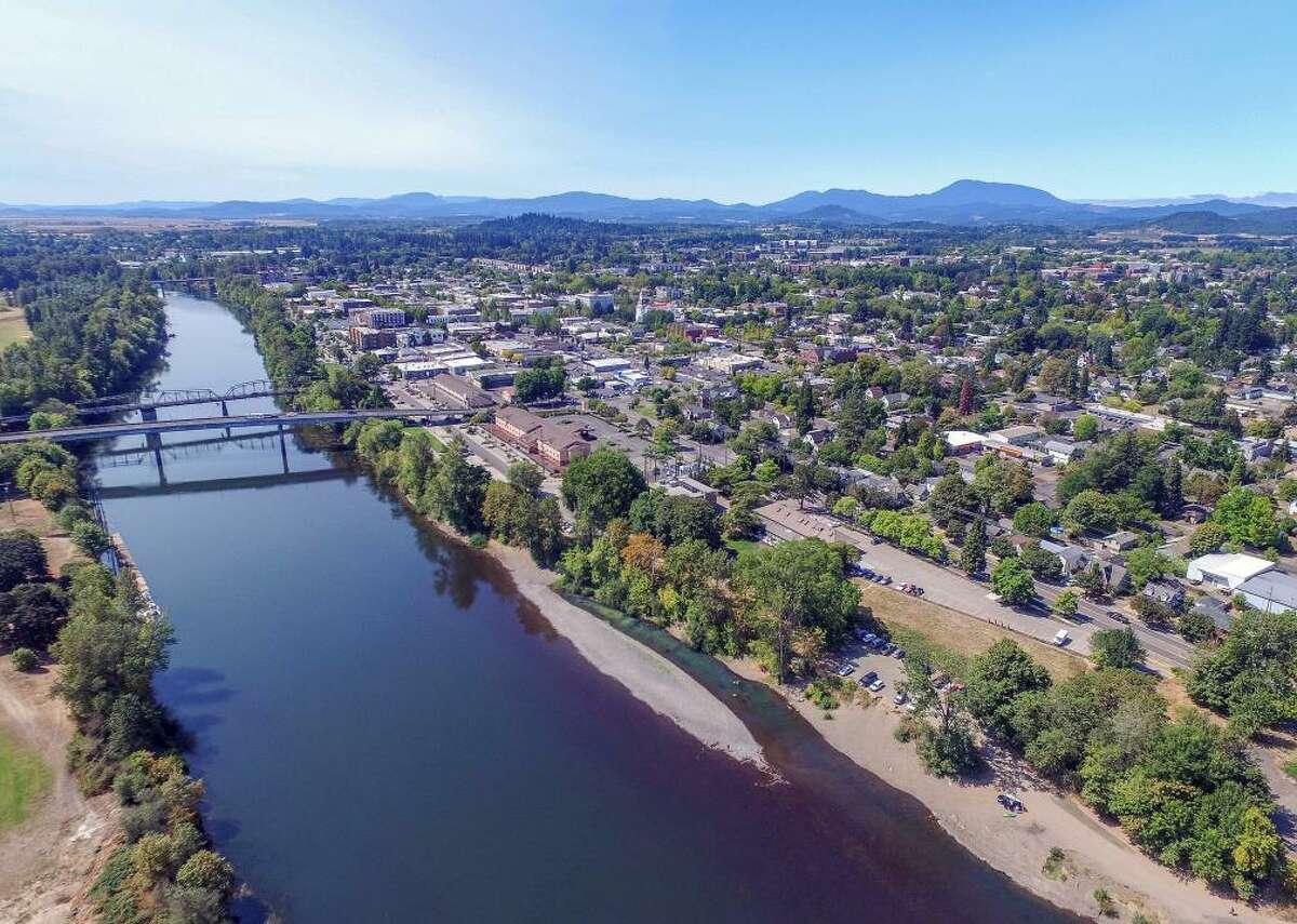 Oregon: Benton County - Population: 89,780 - Median home value: $303,200 (57% own) - Median rent: $1,019 (43% rent) - Median household income: $58,655 Corvallis in western Oregon is the county seat of Benton County, and it offers wineries and craft brewers as well asplaces to hike and bike in the Willamette Valley. South of Portland and north of Eugene, the county is close to urban areas but also to outdoor activities in the Cascade Range and the Pacific Ocean. County Health Rankings by the Robert Wood Johnson Foundation found Benton County to be one of the top three healthiest counties in Oregon. Its economy is based in the tech and health industries and on regional agriculture-including Christmas trees, wine grapes, and organic produce-though recently, farmers have added hazelnuts and marijuana. There are festivals and fairs to choose from-the county fair, the rodeo, and Da Vinci Days of arts and science.
