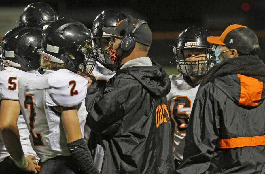 The Ubly Bearcats improved to 3-2 on the season with a 48-12 road win over the host Brown City Green Devils on Friday night. Photo: Mark Birdsall/Huron Daily Tribune