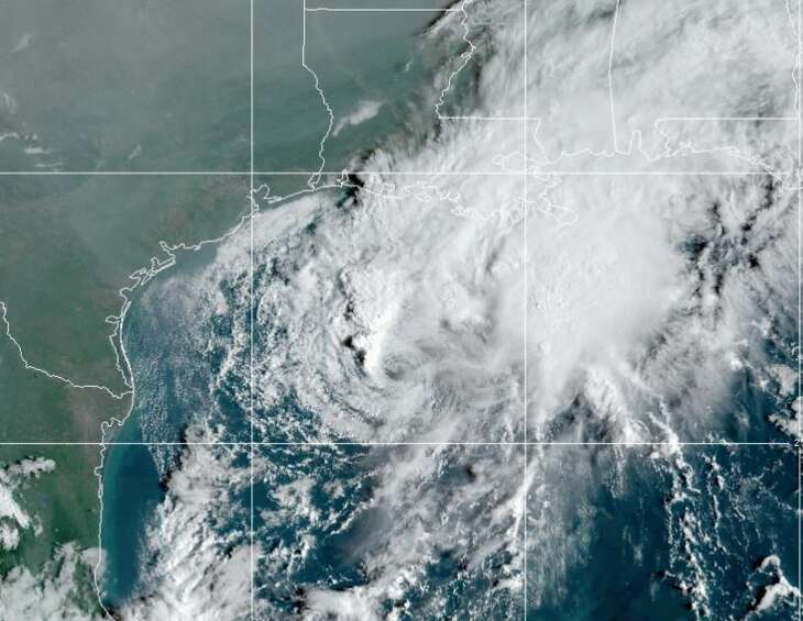 Tropical Storm Beta is expected to become a hurricane Sunday as it moves west toward the Texas coast, bringing a threat of heavy rainfall and flooding into the middle of next week, officials said.