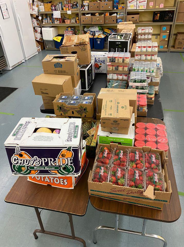 Shelton company donates $6,000 for local food pantries