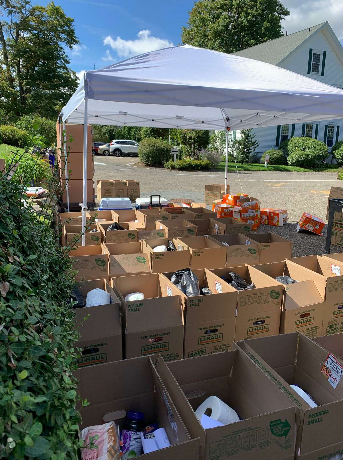 Norwalk Mutual Aid collects and distributes food and supplies for families in need in Norwalk, Conn., many of whom do not qualify for other kinds of aid.