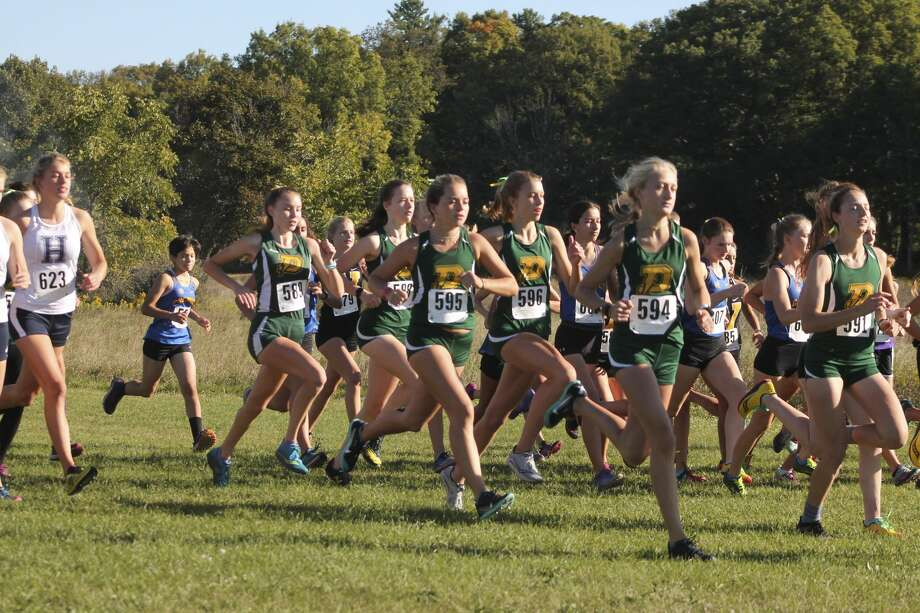 Images from Saturday's first Saginaw Valley League cross country jamboree in Mount Pleasant. Photo: Austin Chastain/Austin.Chastain@hearstnp.com