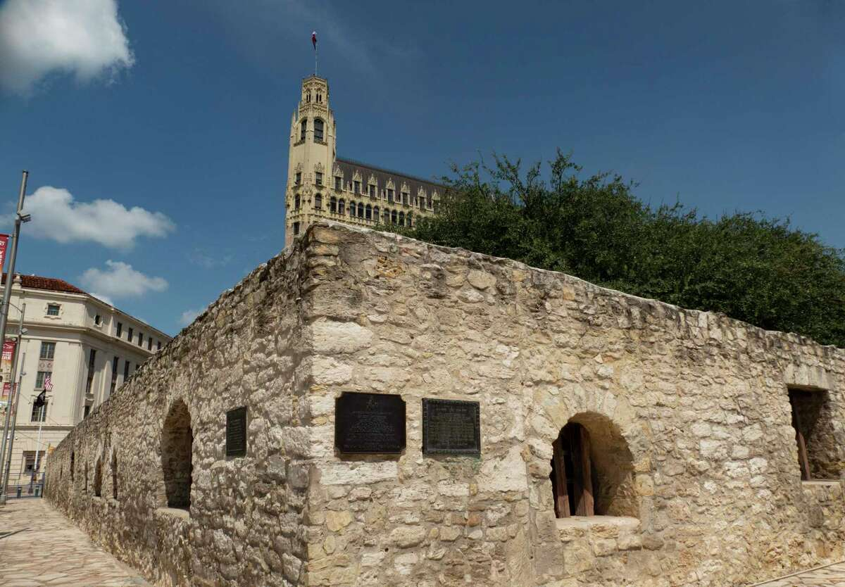 The Long Barrack was the site of heavy fighting during the 1836 Battle of the Alamo. It is shown on Thursday, Sept. 17, 2020.
