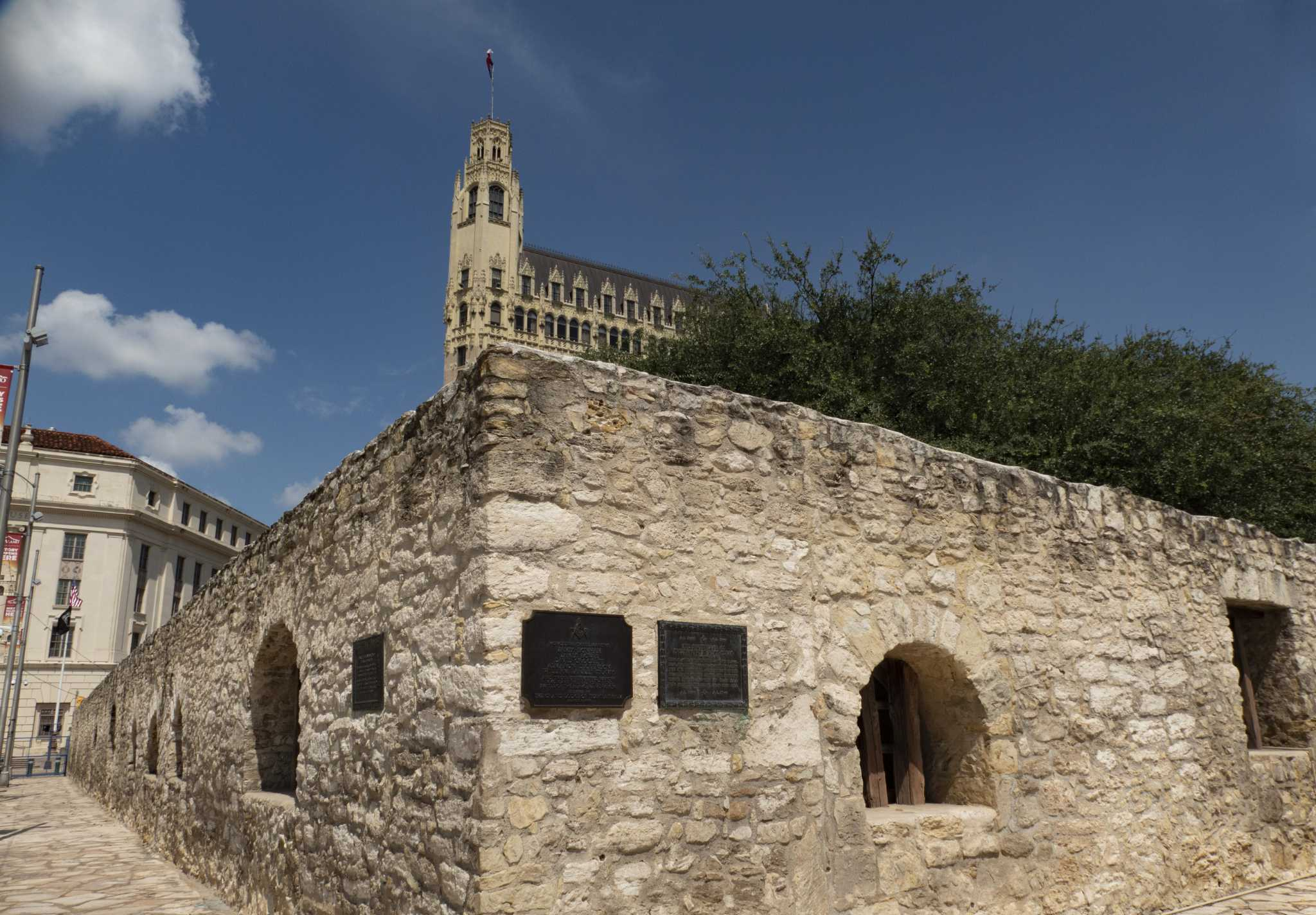 Ruins of the church of the Alamo,San Antonio,Bexar County,Texas,TX,exterior