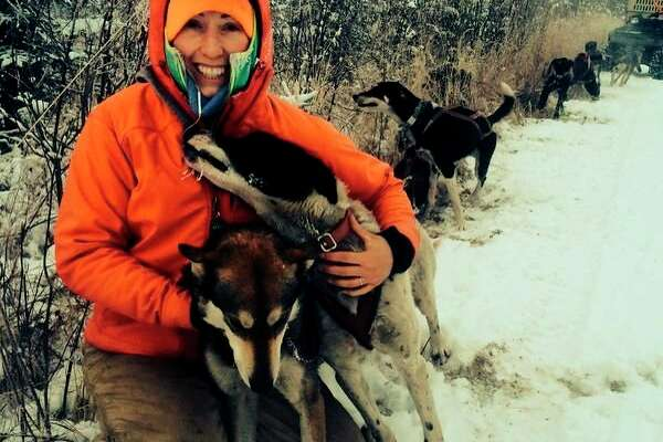 Gladwin native Shaynee Traska is set to again take on the 1,000-mile Iditarod journey through Alaska in March 2021. She and her mush team have been training for the event. She completed the race in 2018 and attempted it in 2019 before withdrawing. Traska said her competitiveness has her again entering the race. (Photo contributed by Shaynee Traska)