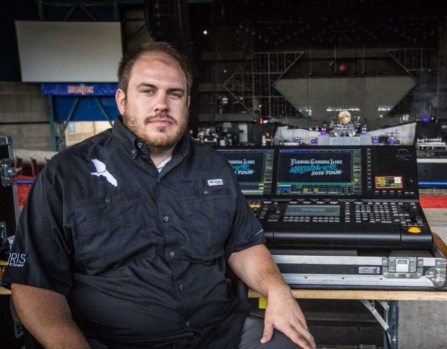 Carrollton native Scott Cunningham is the lighting director for the country music duo Florida Georgia Line, normally traveling with them to about 75 shows a year. He also works behind the scenes for other groups. Photo: Photo Provided