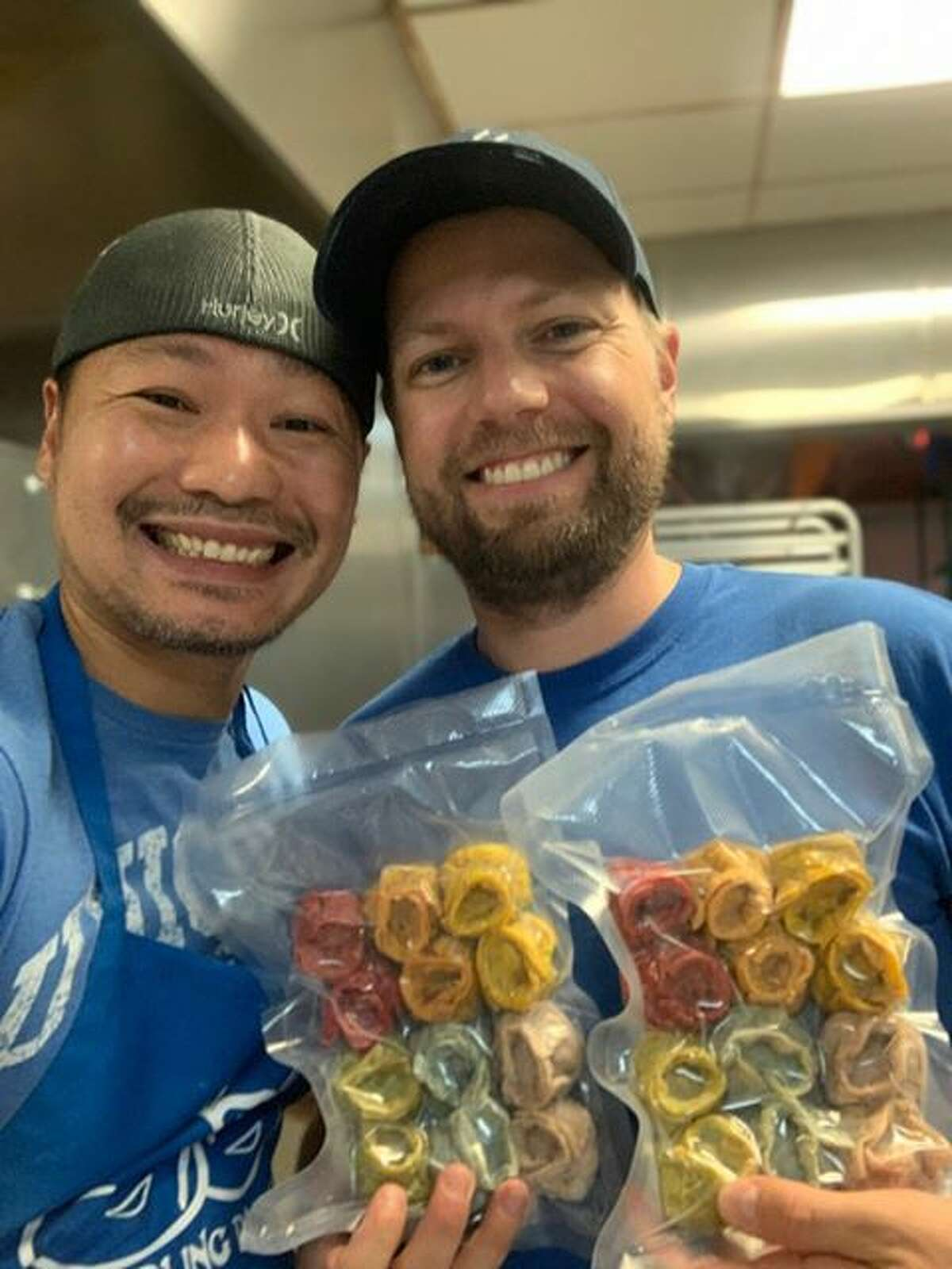 Married couple Chih Lin and Mike Dorsey turned their shared dumpling-making passion into a new EaDo business: Dumpling Dudes.