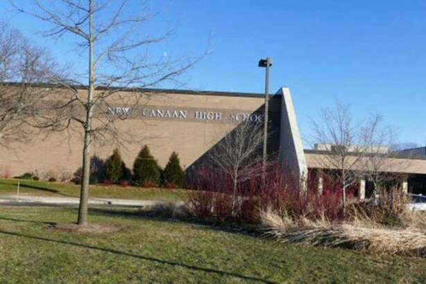 New Canaan High School in New Canaan, Connecticut.