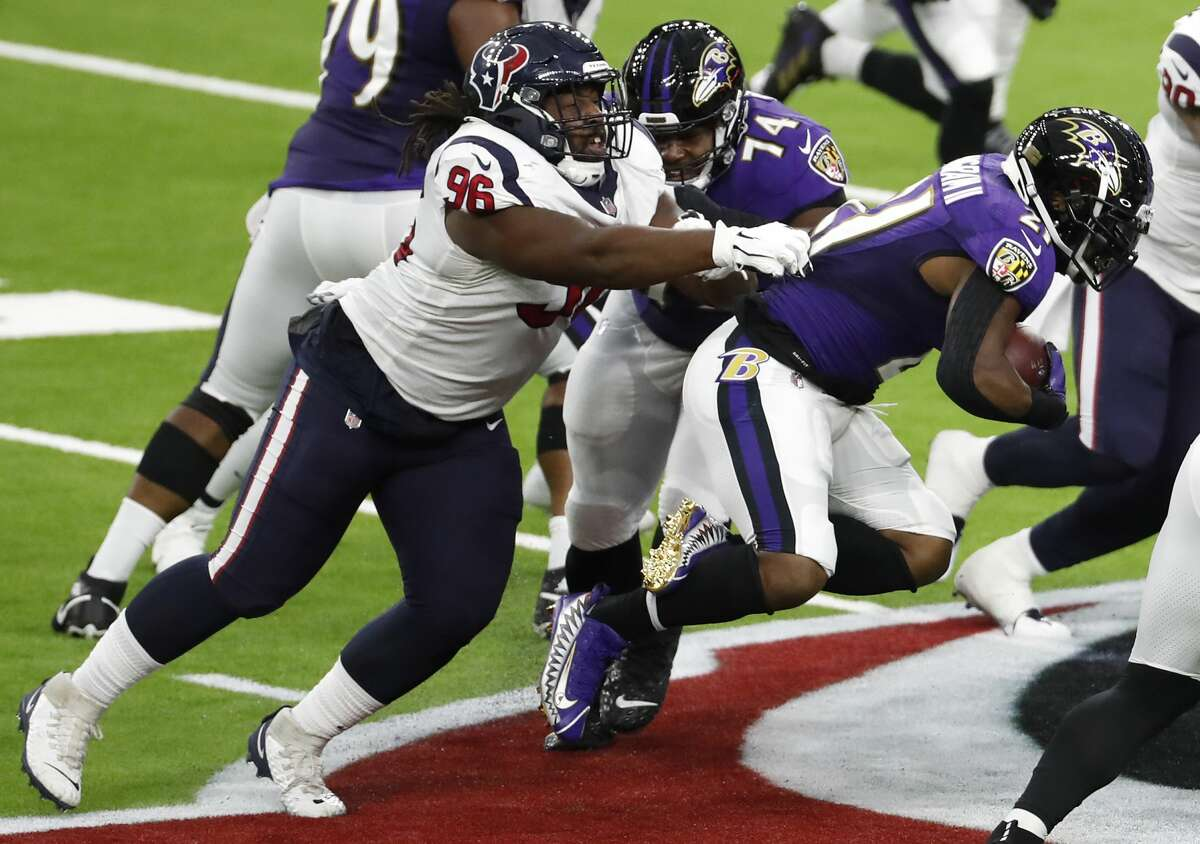 Improving their run defense that has been porous during the season's first two weeks is a must for the Texans on Sunday in Pittsburgh.