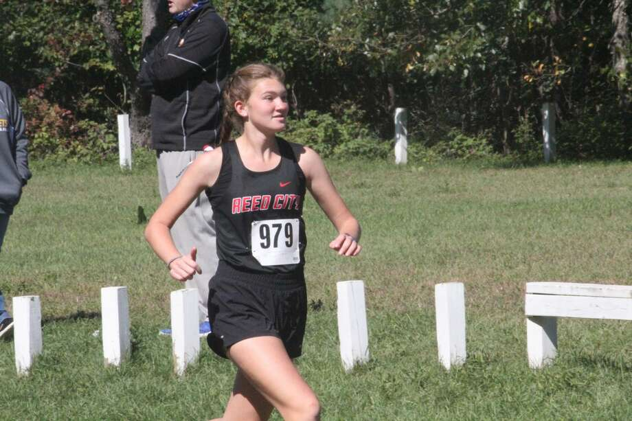 Evart hosted an all-day cross country invitational on Saturday with several local runners. Photo: John Raffel