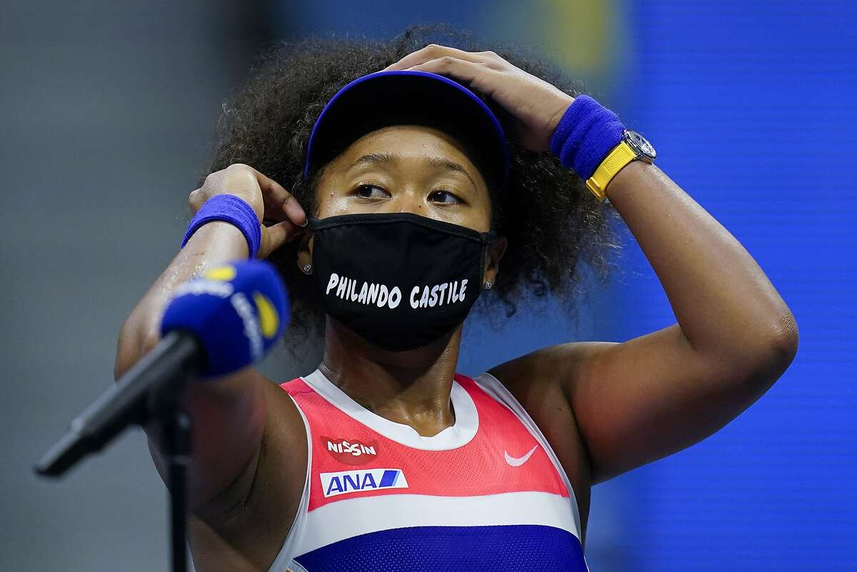 Naomi Osaka wore the names of Philando Castile and six other victims of violence during the U.S. Open.