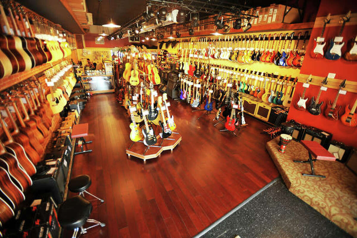 The interior of Mojo's Music filled with all kinds of guitars, of which it sells and trades, and other instruments, as well as amplifiers, effects pedals, accessories, sound and recording gear, and percussion equipment. Mojo's also offers instrument and equipment repair, band and orchestra rentals, and music lessons. During the month of October - Mojo's anniversary month - the specialty retailer will have various promotions and specials, which can be viewed at its Facebook page.