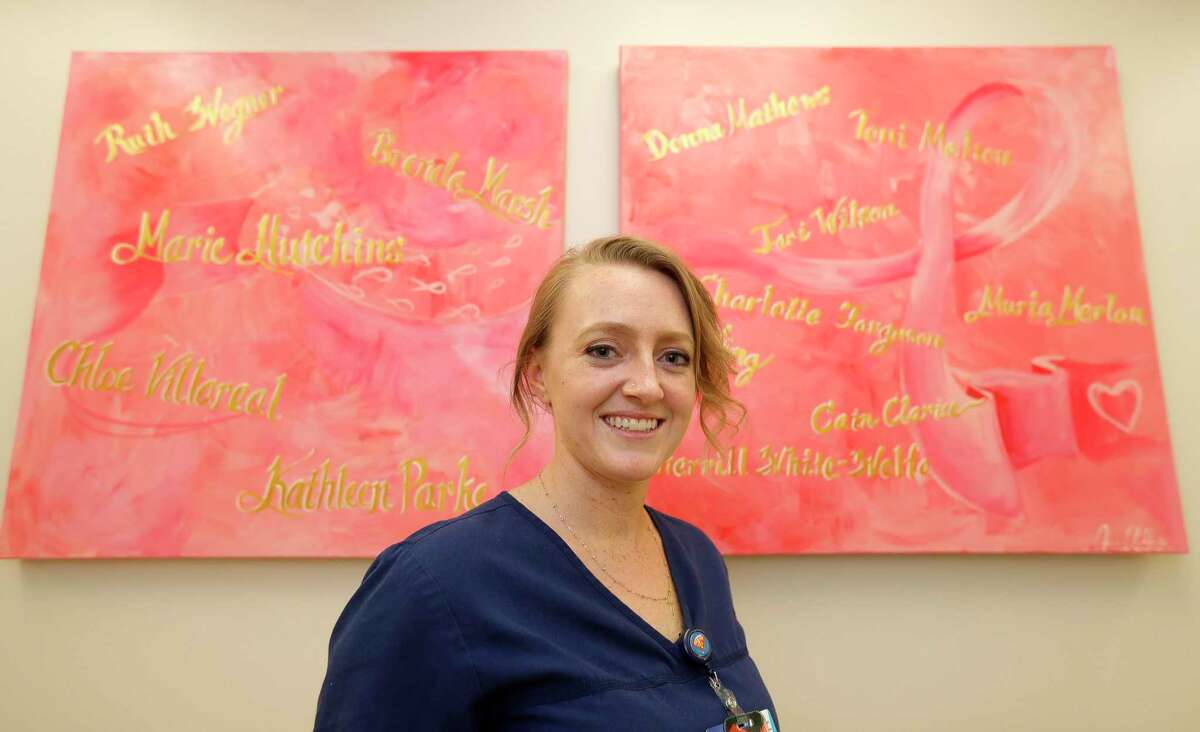 Jessica Miller is part of CHI St. Luke's The Woodlands Hospital's new nurse navigator program, which helps breast cancer patients navigate their treatment after being diagnosed.