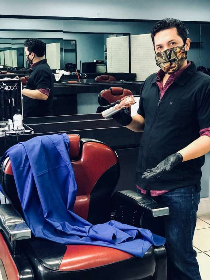 Maximino Manuel Hernandez Juarez and Robert Juarez Jr. began planning to open their new business in July, while the pandemic was in full swing. Photo: Courtesy /Family Cuts Barbershop