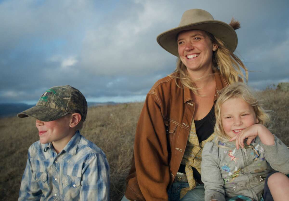 Doniga Markegard and her family practice regenerative grazing on her ranch in Half Moon Bay.