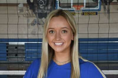 Ally Scheidle is a junior outside hitter and setter for Kerrville Tivy.