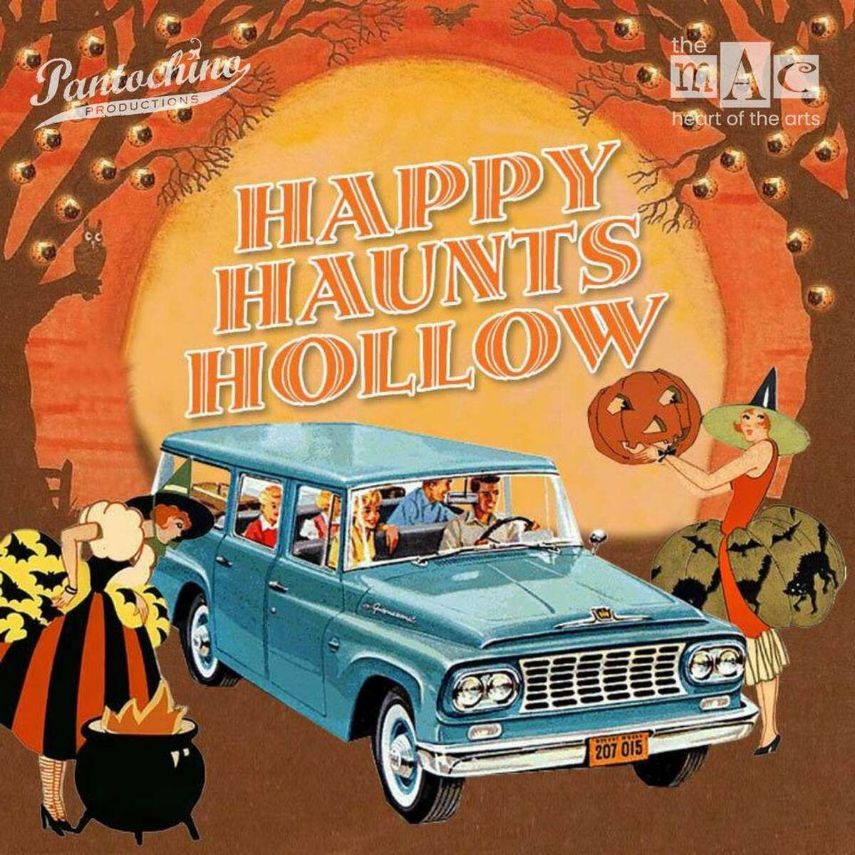 The Milford Arts Council and Pantochino Productions will present Happy Haunts Hollow, a drive-through Halloween experience for families Oct. 22-25, from 6-9 p.m., at Eisenhower Park, 780 North St., Milford.