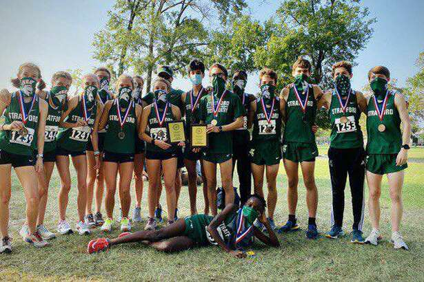 Stratford swept the team championships at the Spring Branch ISD Invitational cross country meet on Sept. 19.