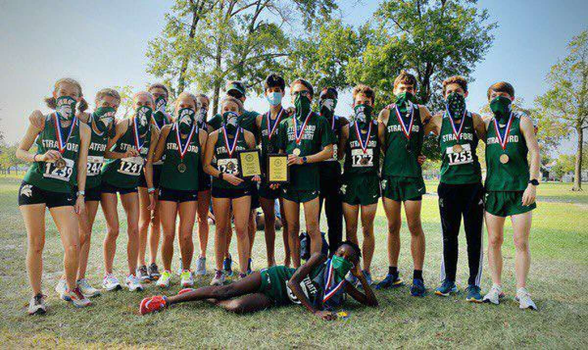 Stratford swept the team championships at the Spring Branch ISD Invitational cross country meet Sept. 19 at Nottingham Park.