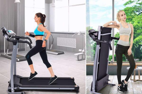 Costway 800W Folding Treadmill, $319.99 at Walmart