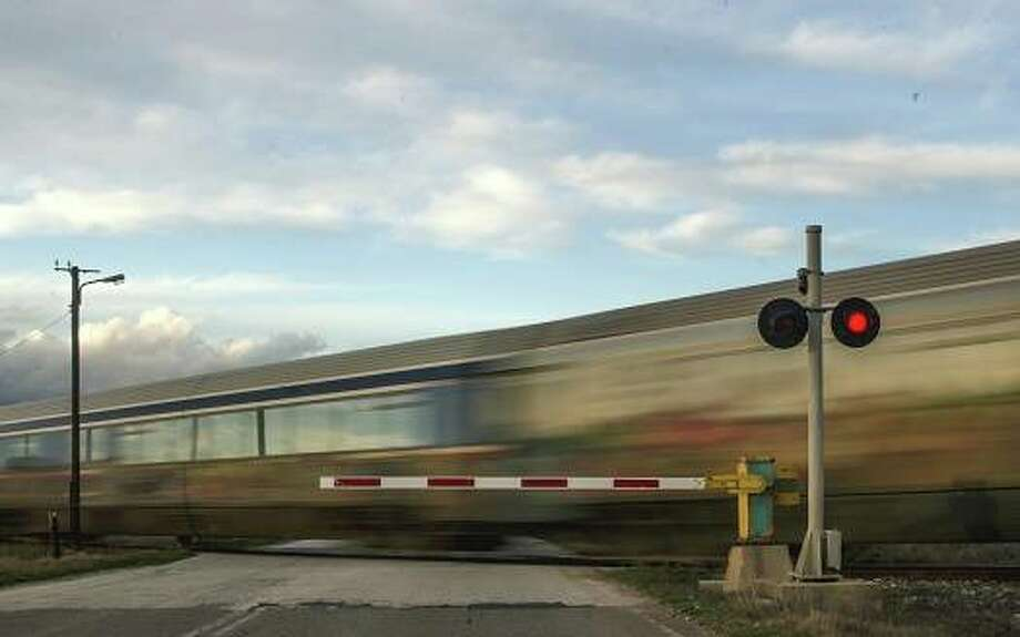More than 81% of crashes at railroad crossings in Illinois occur in locations where there are active warning devices, such as flashing lights, ringing bells or gates, according to the Illinois Commerce Commission. Photo: Journal-Courier