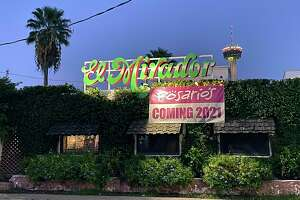 """A banner has appeared over the former El Mirador restaurant on North St. Mary's street: """"Rosario's Coming 2021."""" Rosario's owner Lisa Wong isn't ready to give details just yet, but she bought the El Mirador property when the Tex-Mex institution closed in 2018."""