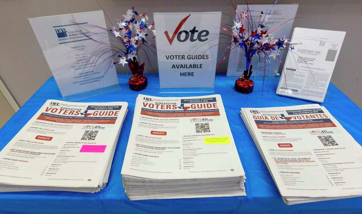 The League of Women Voters provides non-partisan information about candidates to voters.