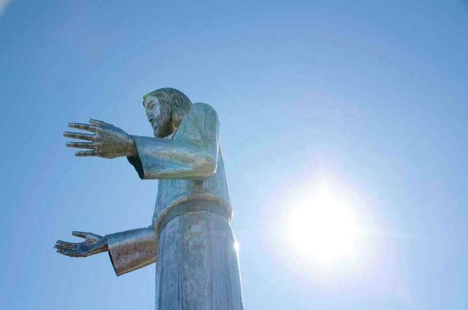 Messiah Lutheran Church in Midland removed the statue of Jesus Christ over the weekend. (Photo provided/Facebook)