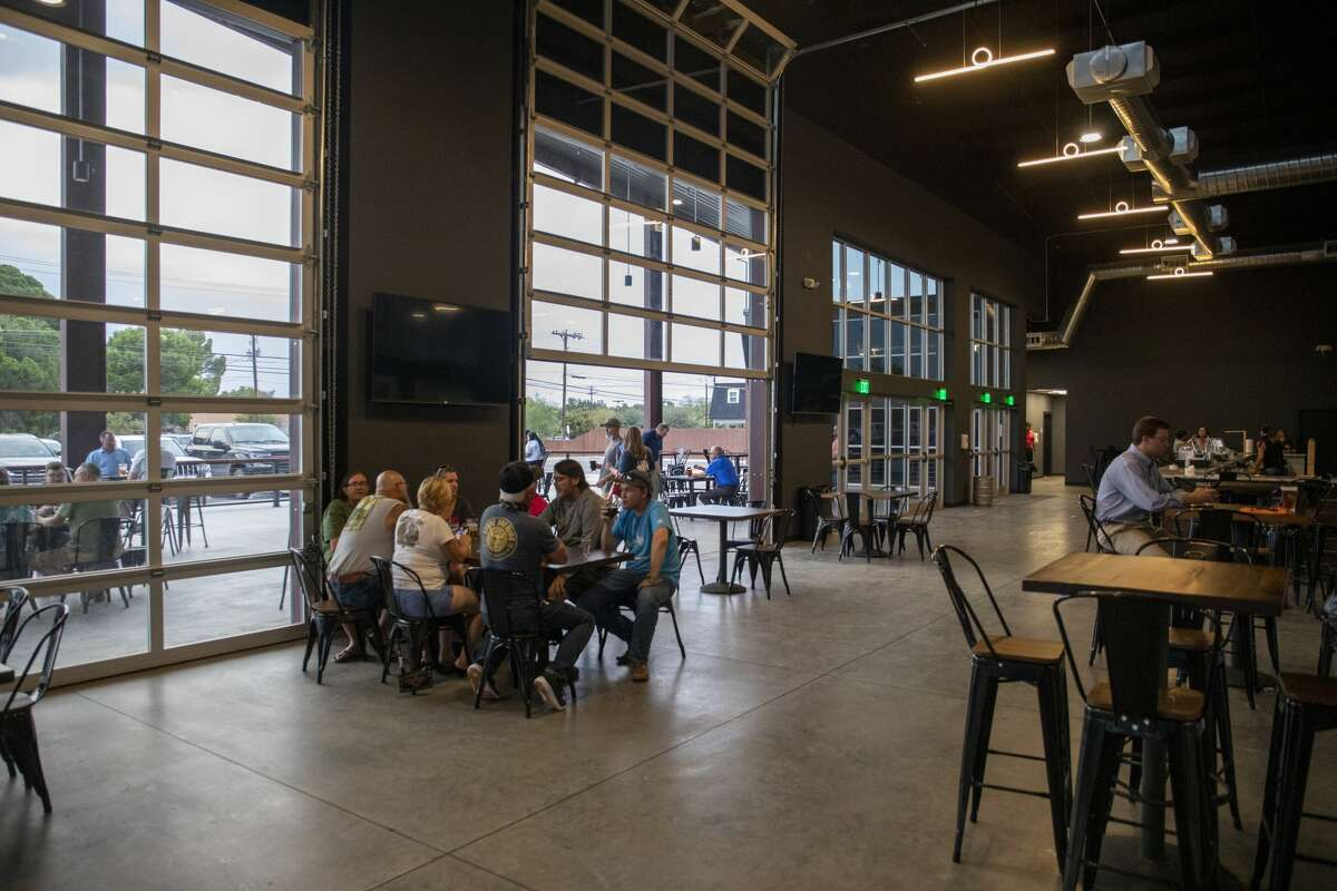 Tall City Brewing Co., reopened Sept. 11. The brewery has implemented coronavirus protocols as seen Wednesday, Sept. 16 at Tall City Brewing Co. Jacy Lewis/Reporter-Telegram