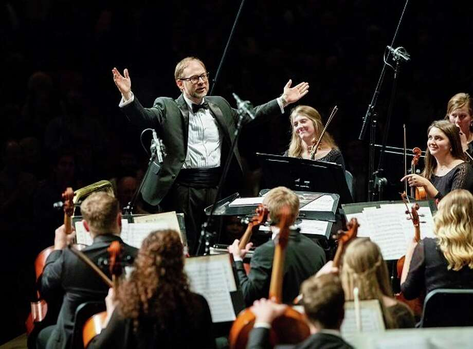 Symphonic Hollywood performance by the Bob Jones University Symphony Orchestra for the Concert, Opera, and Drama Series, Oct. 25, 2018. (BJU Marketing/Derek Eckenroth) / Copyright 2018 BJU, all rights reserved