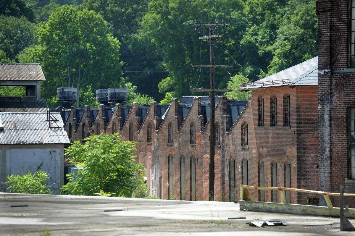 The old Gilbert & Bennett wire mill in Redding, Conn., Thursday, August 7, 2014.