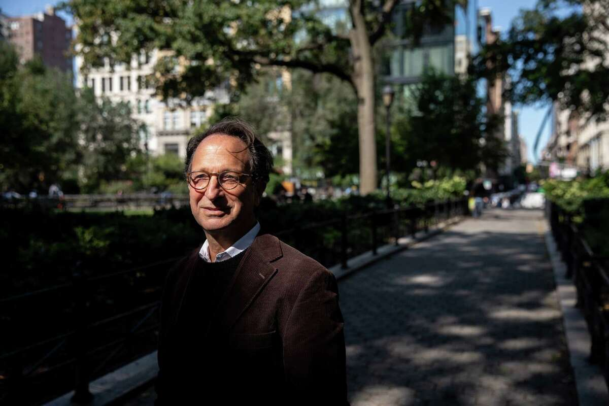 Andrew Weissman poses at Union Square Park in New York on Monday, Sept. 21, 2020.