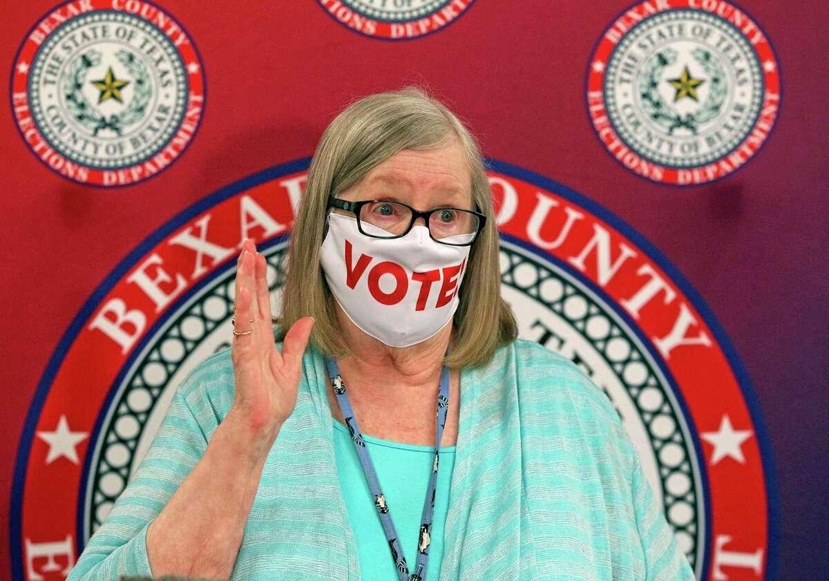 Jacque Callanen is Bexar County's elections administrator.