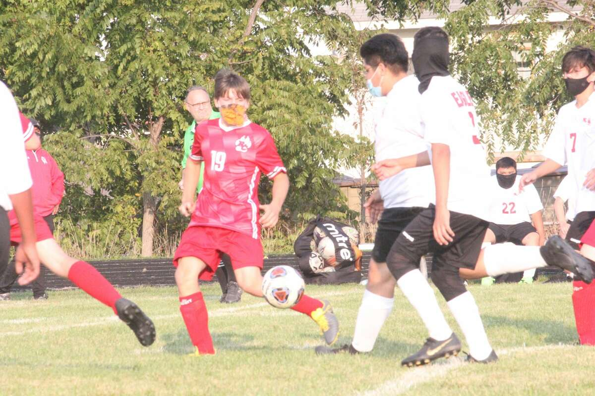 Parker Benedict scored six goals for Reed City in Monday's 6-1 win over Kent City.
