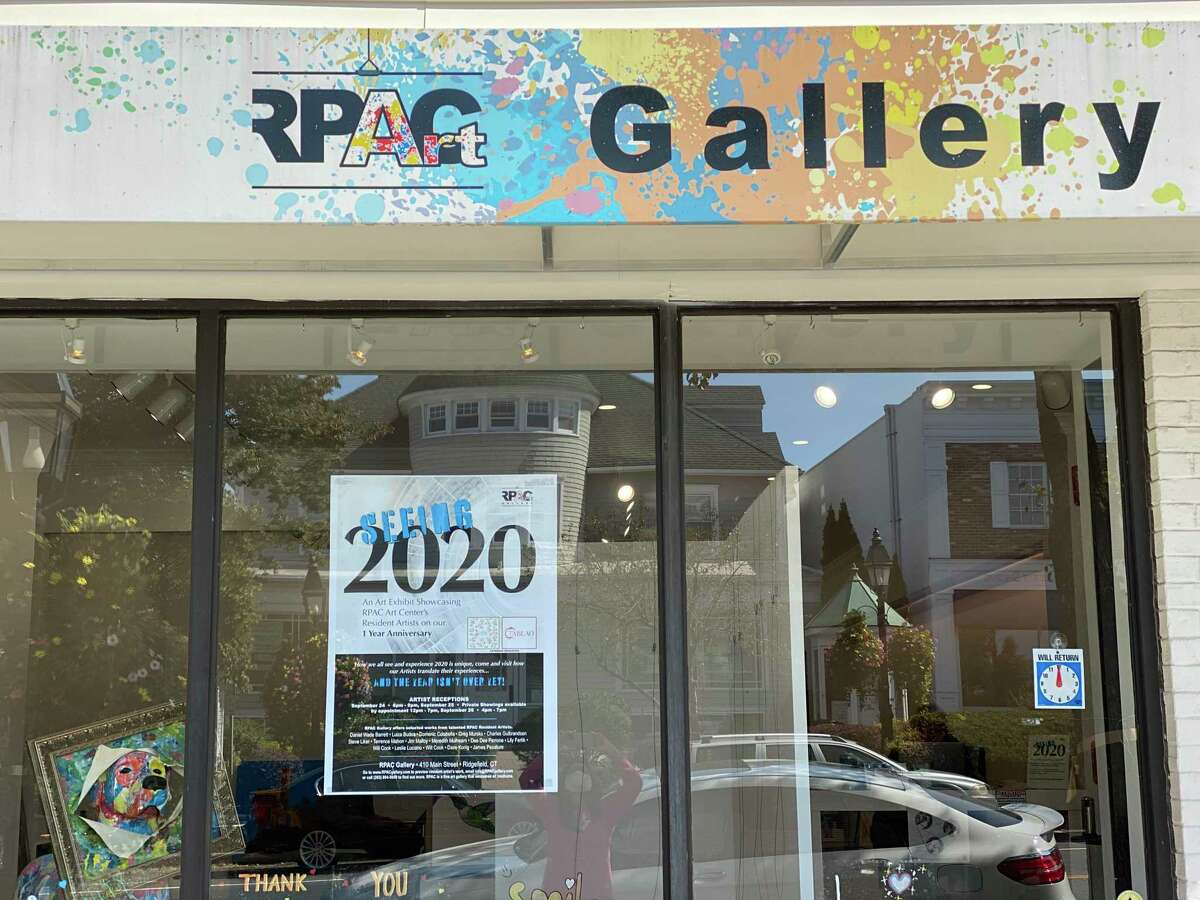 """RPAC Gallery, 410 Main St., Ridgefield, is celebrating its one-year anniversary with an art exhibition titled """"Seeing 2020"""" through the eyes of RPAC Art Center's resident artists."""