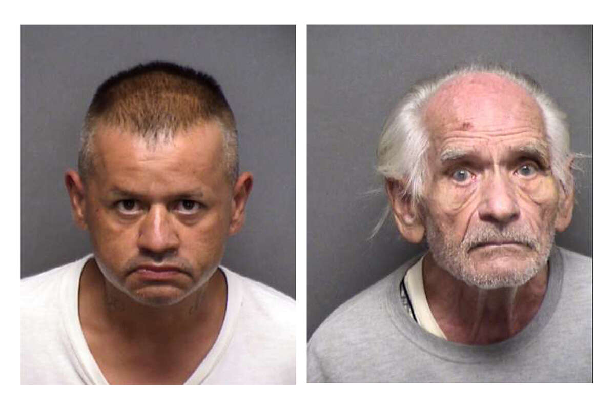 The Bexar County Sheriff's Office said it appears Robert Cantu, 43, left, experienced a medical episode related to a pre-existing condition. Photo: Bexar County Records George Lee Holland, 89, right, who was accused of killing his wife, died in police custody after having a medical episode in the Bexar County Jail on Sept. 22. Photo: Bexar County Sheriff's Office