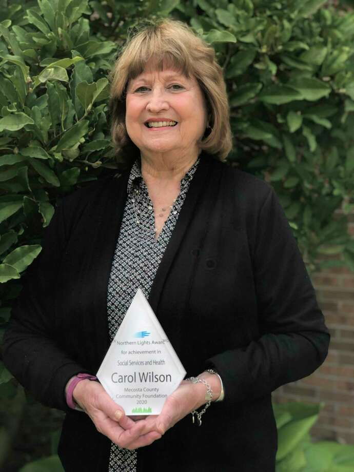 On Monday, Carol Wilson received the Northern Lights Social Services and Health Award. According to her nomination, Wilson is known for her volunteerism in many parts of the community. (Courtesy photo)