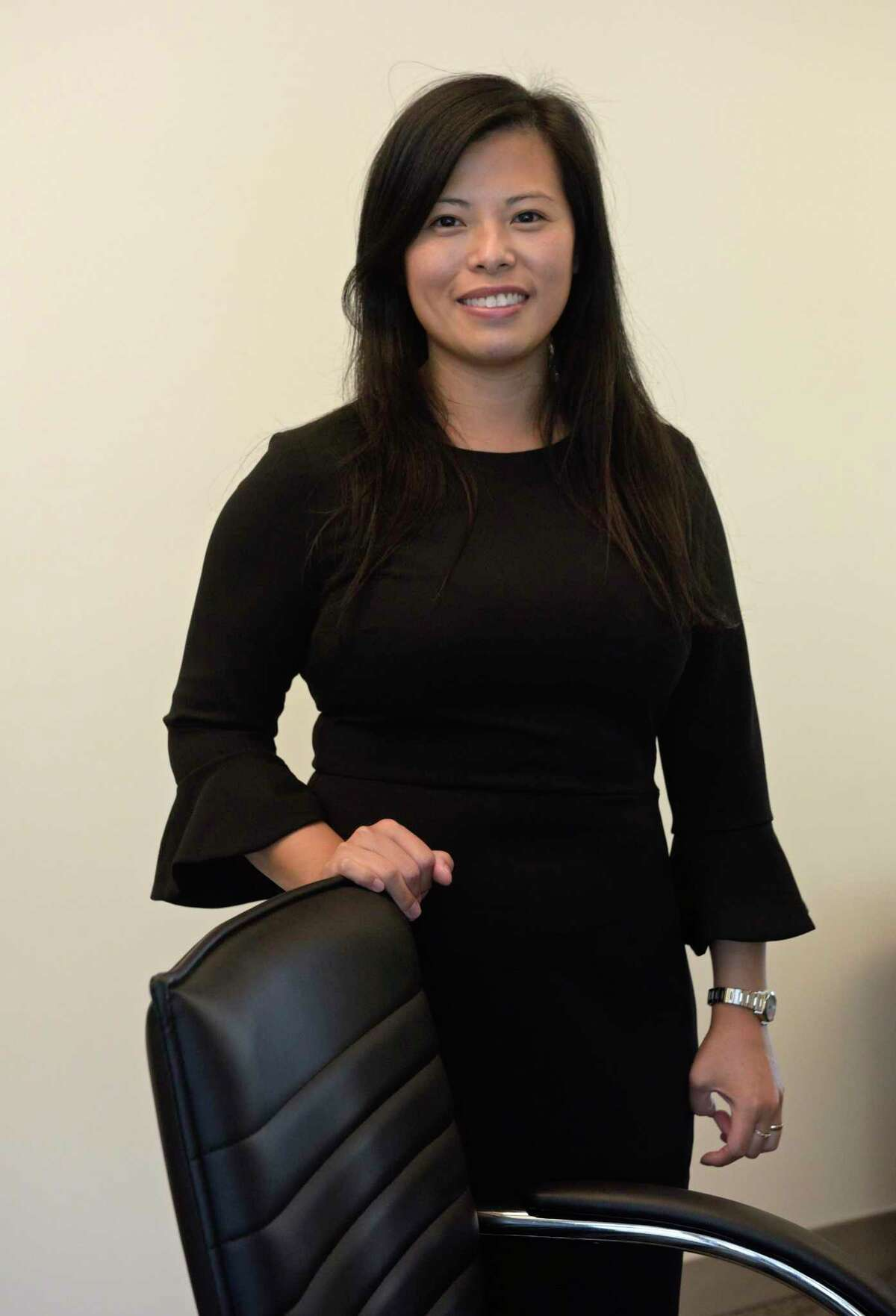 Autism Behavioral Health founder and clinical director Jessie Wong. Monday September 14, 2020, in Danbury, Conn.