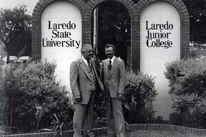 The 65th Legislature approves HB 944 (Hale/Truan), changing the University's name to Laredo State University and establishing the University System of South Texas. Governor Dolph Briscoe signs the name change bill into law. The University becomes Laredo State University effective September 1, 1977.