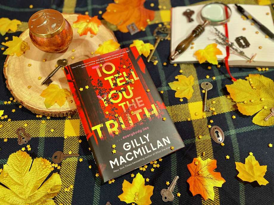 """Gilly Macmillan's latest thriller """"To Tell You the Truth"""" is about a crime novelist who finds herself at the center of a missing person investigation ... again. Photo: TinaMarie Craven / Hearst Connecticut Media /"""