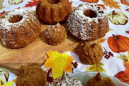 Pumpkin bread is a lovely fall treat.