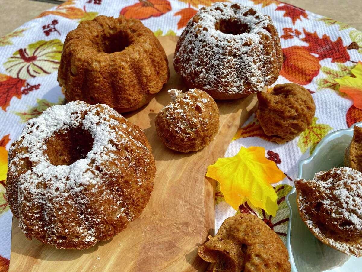 Pumpkin bread is a lovely fall treat.