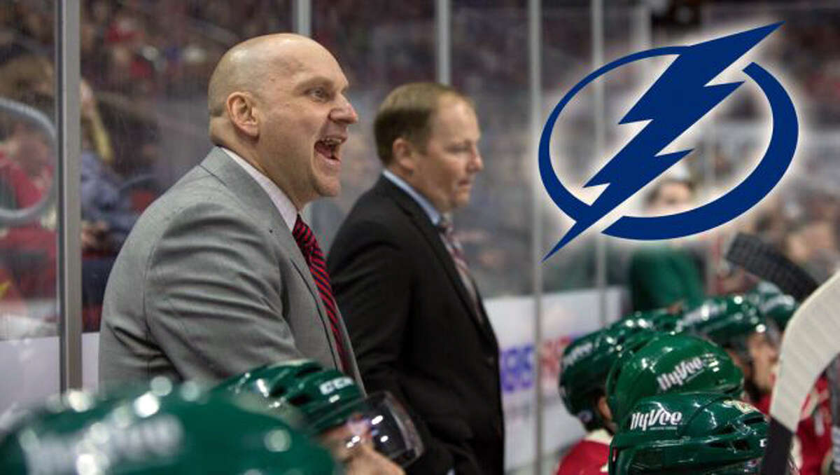 Derek Lalonde serves as Tampa Bay's assistant coach under Jon Cooper while the video coordinator is Big Rapids native and former FSU ice arena employee Brian Garlock.