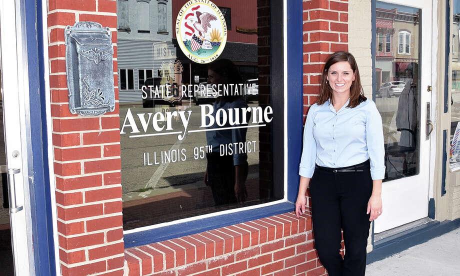 Avery Bourne, Illinois State Representative District 95 Photo: Repbourne.com