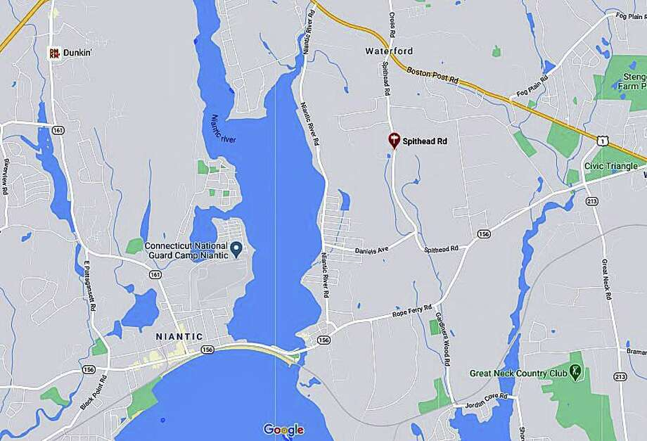 A feral cat has tested positive for rabies, the Ledge Light Health District has announced. Stephen Mansfield, director of health, said the cat was from the Spithead Road area of Waterford. Photo: Google Maps