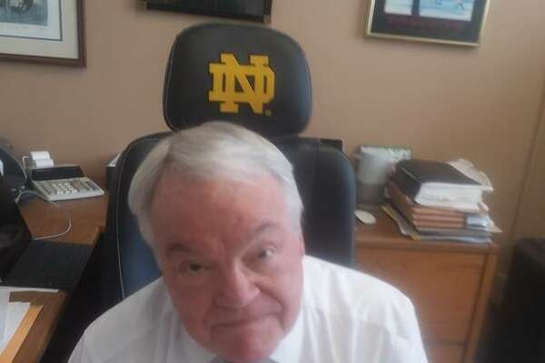 Although he's not a Notre Dame graduate, judge Richard Tognarelli is among the college's most ardent fans. His son, Michael, earned three degrees at the school and, prior to this season, the judge helped maintain offensive statistics for the football team for about 20 years.