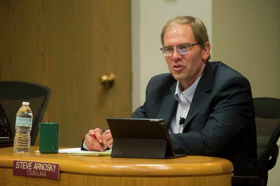 Midland City Councilman Steve Arnosky in 2017. (File photo)