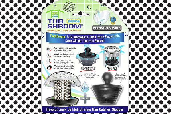 TubShroom Ultra Revolutionary Bath Tub Drain Protector